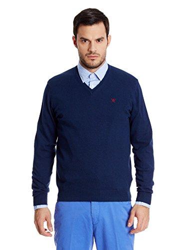 hackett-london-mens-pima-v-logo-long-sleeve-sports-jumper-blue-navy-xx-large-manufacturer-sizexxl