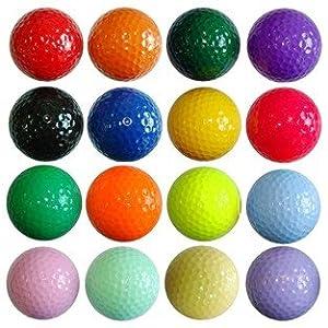 Amazon.com : Kids Golf Balls Color Floater / 1 Dozen ...