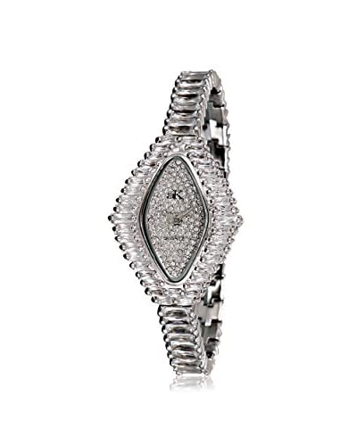 Adee Kaye Women's AK9-72L/CR Princess Collection Crystal & Brass Watch