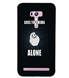 ASUS ZENFONE SELFIE ALONE Back Cover by PRINTSWAG