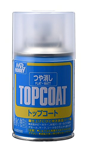 TOPCOAT Gundam Mr. Hobby Top Coat Flat NET 88ml. Spray