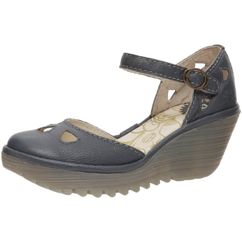 Fly London Women's Yuna Indigo Wedge Heel P500016051