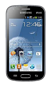 Samsung GT-S7562-BK Galaxy S Duos Android Smartphone with Dual SIM, 5MP Camera, A-GPS support and LED Flash - No Warranty - Black