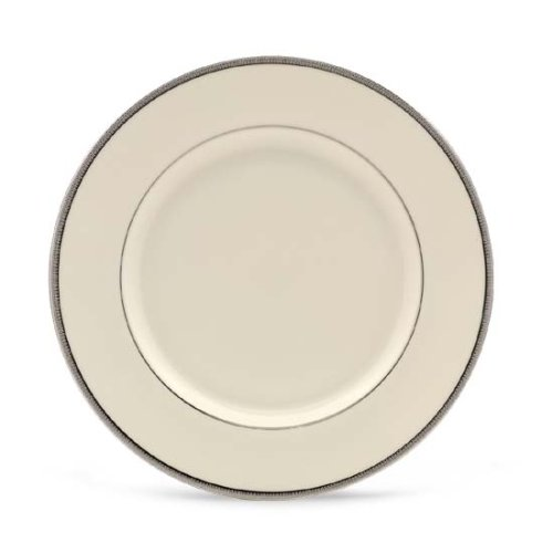Lenox Tuxedo Platinum Ivory China Dinner Plate