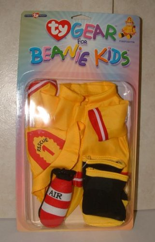 Ty Gear for Beanie Kids Firefighter - 1
