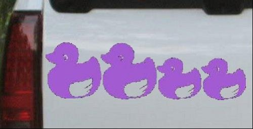 Purple Rubber Duckies