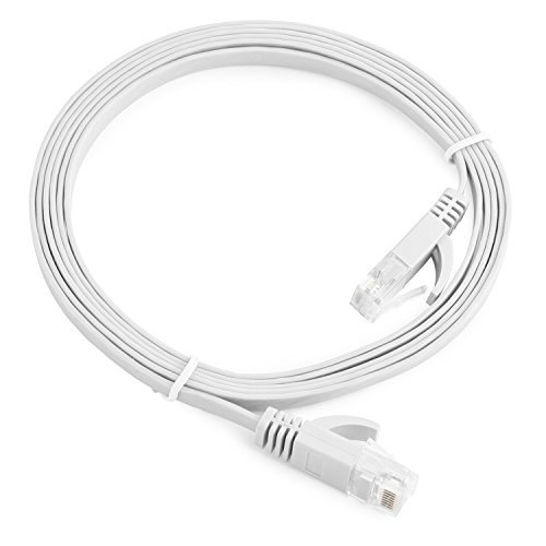 aurum-cables-flat-cat6-snagless-network-ethernet-patch-cable-50-feet-white