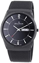 Skagen SKW6006 Mens Black Activ Mesh Watch