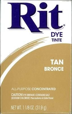 Rit Dye 52 g Tan Bronce Powder (6-Pack)