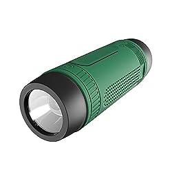 Zakk S1 Torch With 4000 Mah Power bank Dustproof Waterproof Wireless Laptop/Desktop Speaker Green