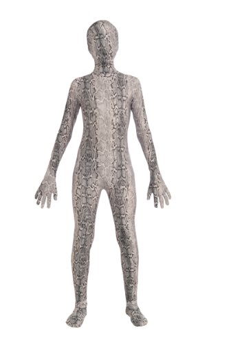 Forum Novelties Teen Disappearing Man Patterned Stretch Body Suit