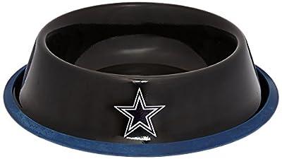 Hunter NFL Dallas Cowboys Black Gloss Pet Bowl