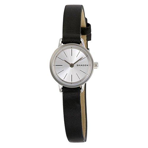 Skagen - SKW2361 - Montre Femme - Quartz - Analogique - Bracelet cuir noir