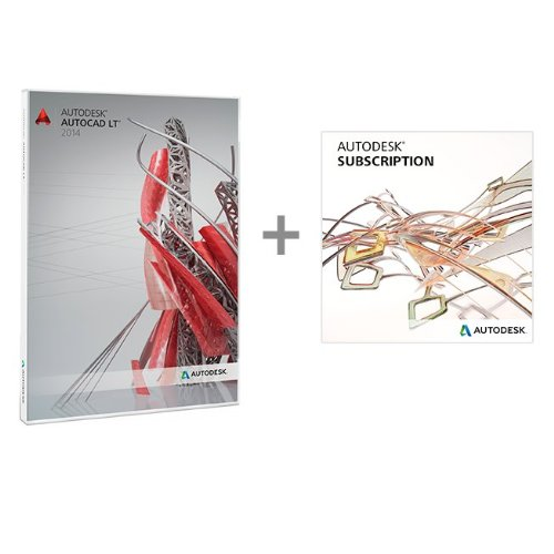 AutoCAD LT 2014 for PC with 1 year Autodesk Subscription