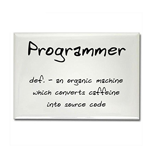 CafePress - Programmer Rectangle Magnet - Rectangle Magnet, 2