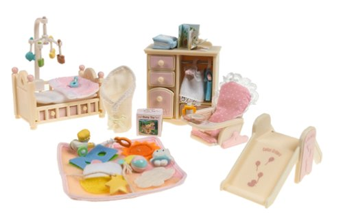 Calico Critters Baby's Bedroom Set