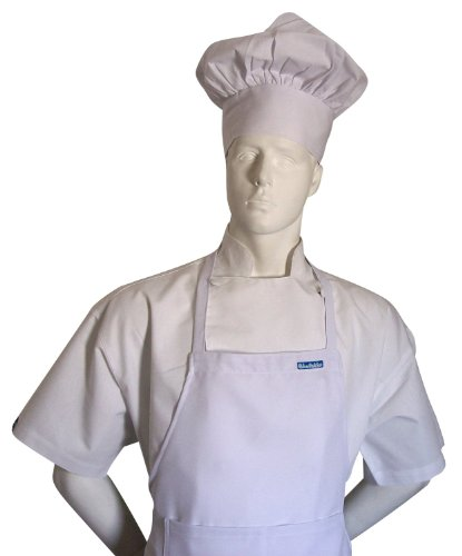 CHEFSKIN KIDS CHILDREN CHEF SET : 1 CHEF JACKET + 1 CHEF HAT + 1 CHEF APRON BEAUTIFUL SET, JUST LIKE THE ORIGINAL CHEFS ALL IN WHITE, PERFECT FOR COSTUME HALLOWEEN CHRISTMAS, FOR SCHOOL OR TO HELP MOM (ALL SIZES AVAILABLE, XXS XS SMALL M L XL XXL) (ADULT XS (FITS KIDS 11-13))