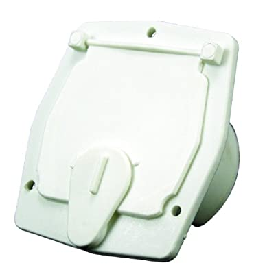 JR Products 30 Amp Square Electric Cable Hatch