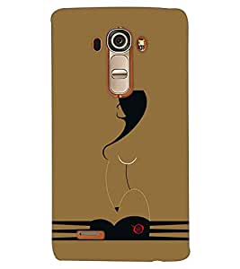 PRINTSWAG GIRL ART Designer Back Cover Case for LG G4