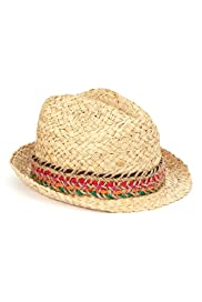 Trilby Straw Hat