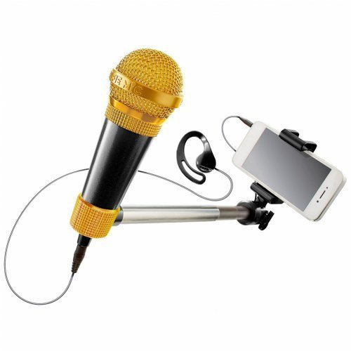 Selfie Microphone Karaoke Music Set