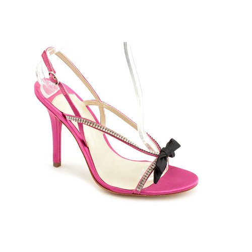 Ivanka Trump Ellan 2 Open Toe Dress Sandals Shoes Pink Womens