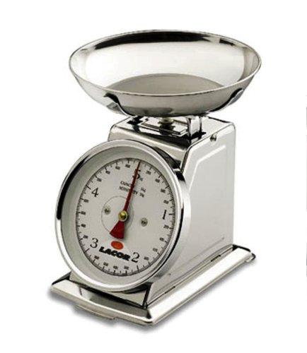 Lacor 61705 Balance Mécanique avec Plat Creux 5 Kilos