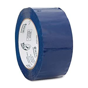 Duck 1.88-Inch Commercial Grade Colored Packaging Tape - Blue (240301)