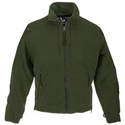 5.11 Tactical #48038 Tactical Fleece Jacket (Sheriff Green, Medium)