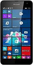 Microsoft Lumia 535 Smartphone débloqué 3G (Ecran: 5 pouces - 8 Go - Double SIM - Windows Phone 8.1) Noir