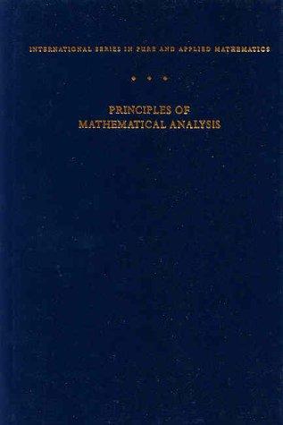 Principles of Mathematical Analysis, Third Edition