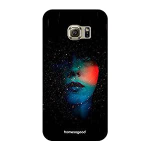 HomeSoGood Under The Skin Black 3D Mobile Case For Samsung S6 Edge ( Back Cover)
