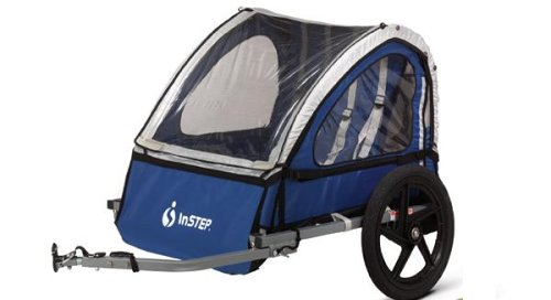InStep Take 2 Double Bicycle Trailer (Blue)