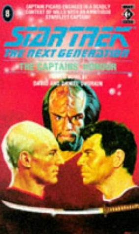 The Captains' Honour (Star Trek: The Next Generation 8)