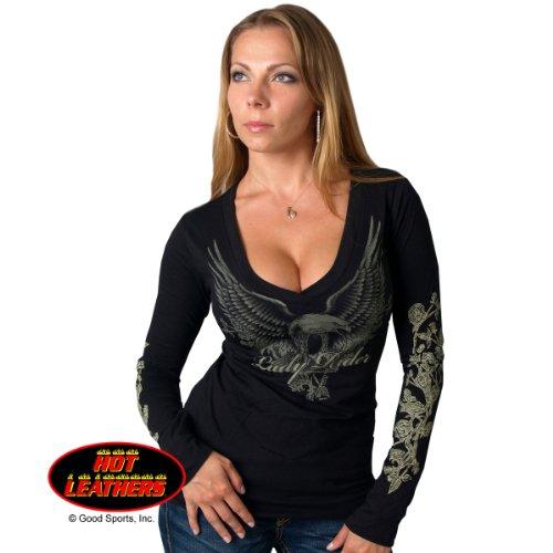Lady Rider Upwing Eagle Long Sleeve Tee Medium