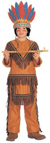 Native American Boy (Light Brown) Child Costume Size Medium