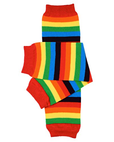 Judanzy Rainbow Stripe Baby & Toddler Leg Warmers For Boy Or Girl