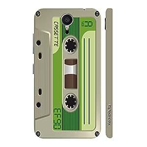 Enthopia Designer Hardshell Case Retro Cassette 8 Back Cover for Meizu MX5