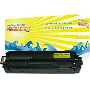 InkGrabber © Samsung CLT-Y504S Compatible Laser Toner Cartridges - Compatible With: CLX 4195FW, CLP 415NW, CLP 415N, CLX 4195FN
