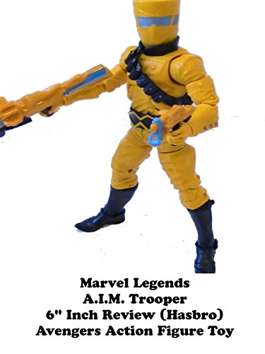 "Marvel Legends A.I.M. trooper 6"" inch Review (Hasbro) Avengers action figure toy"
