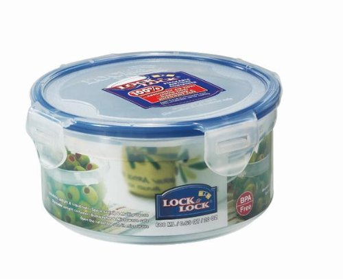 Lock&Lock, 20-Oz, Bpa Free, 100% Water Tight, Food Container, Hpl933, 2.5-Cup