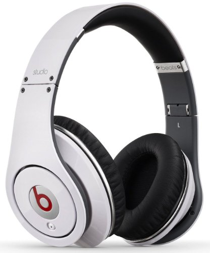 Beats Studio Over-Ear High Definition Isolation Headphones (White)