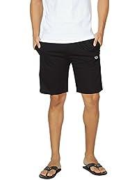 Alan Jones Solid Cotton Shorts