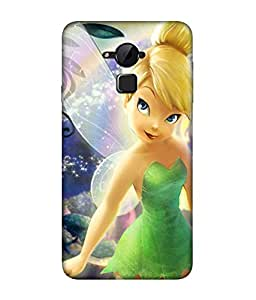 chnno Tinkerbell 3D Printed Back cover for Coolpad Note 3
