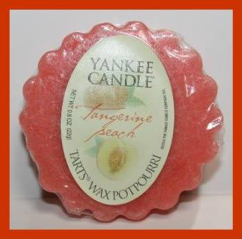 Tangerine Peach Yankee Candle Tart