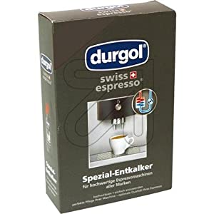 Durgol 0291 Swiss Espresso Decalcifying Liquid for Coffee/Espresso Machines 2-bottle by Frieling USA Inc.