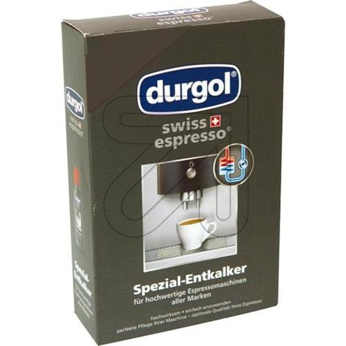 Durgol 0291 Swiss Espresso Decalcifying Liquid for Coffee/Espresso Machines (2 Bottles)