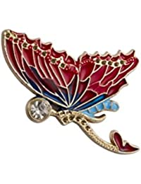Knighthood Gold Mermaid With Wing Detailing Lapel Pin/Shirt Stud