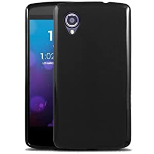 Bingsale TPU Silikon Case schutzhülle LG Google Nexus 5 Hülle Tasche schwarz