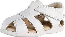 FootMates Unisex Scout (Infant/Toddler) White Sandal 7 Toddler M